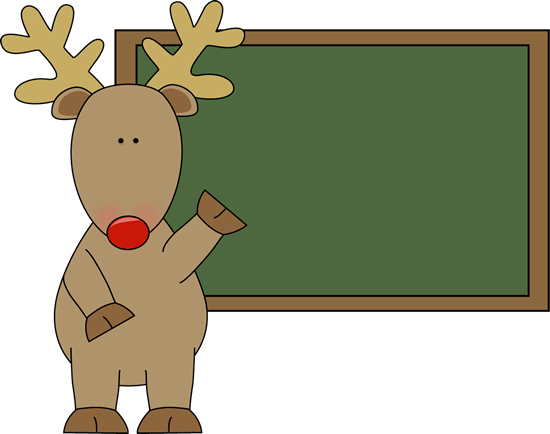 image royalty free download Clipart chalkboard. Christmas reindeer group free.
