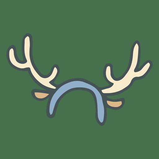 png royalty free download Reindeer Antlers Drawing at GetDrawings