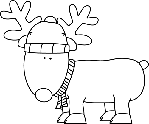 free library Ugly sweater clipart black and white. Clip art christmas reindeer