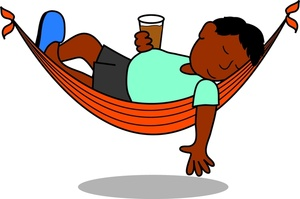 jpg black and white library Relax clipart. Free cliparts download clip