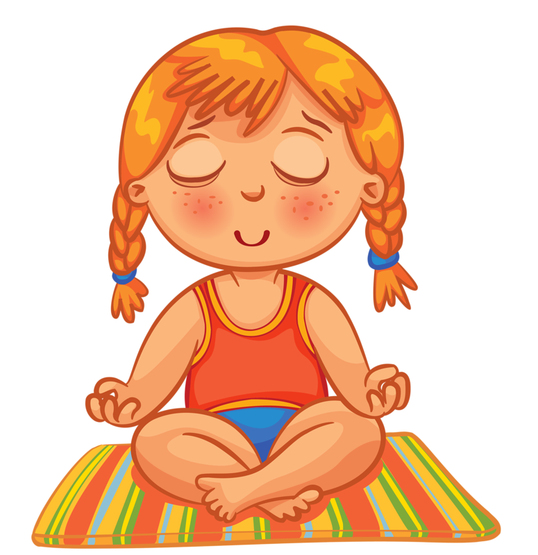 banner freeuse stock Clip art kid relax. Relaxing clipart relaxed woman