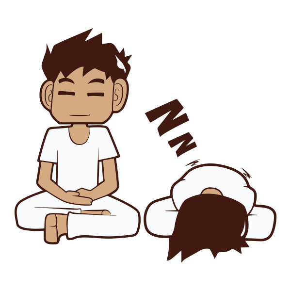 clip royalty free Meditation Group Mandurah