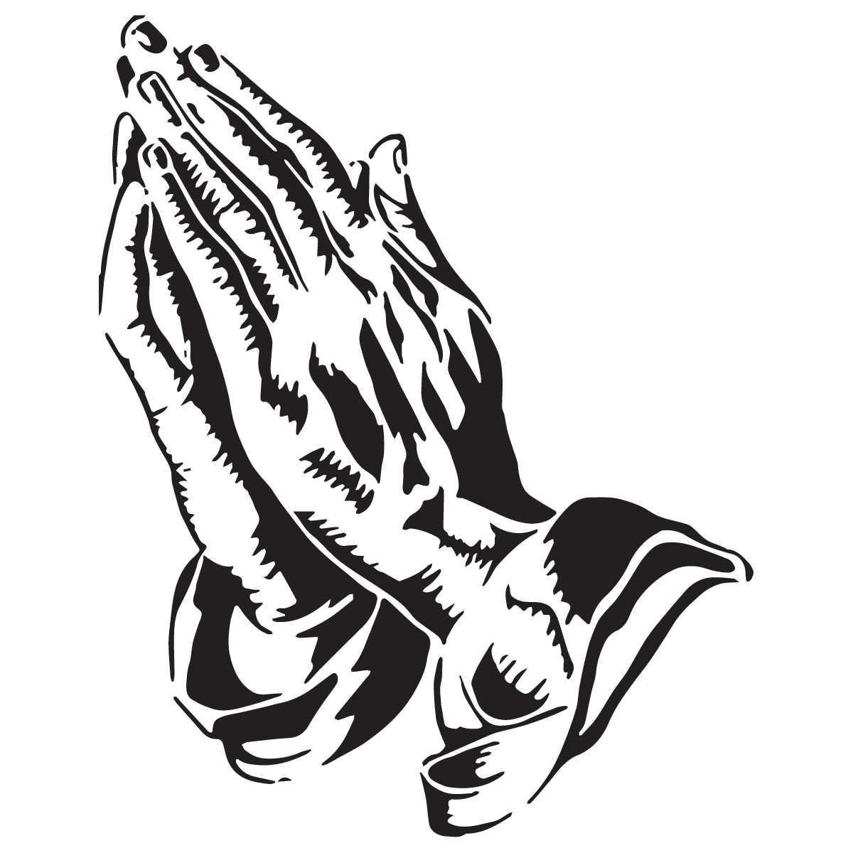 svg black and white stock Praying Hands Prayer Religion Drawing Clip art