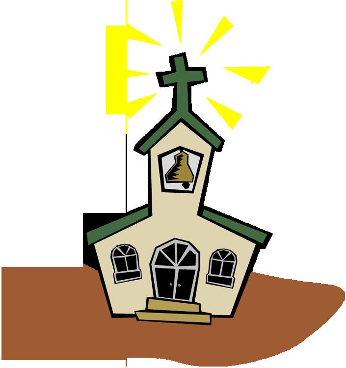 image black and white Religious . Clocks clipart church.