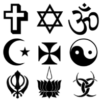 clip library Religious clipart black and white. Symbols image collections meaning