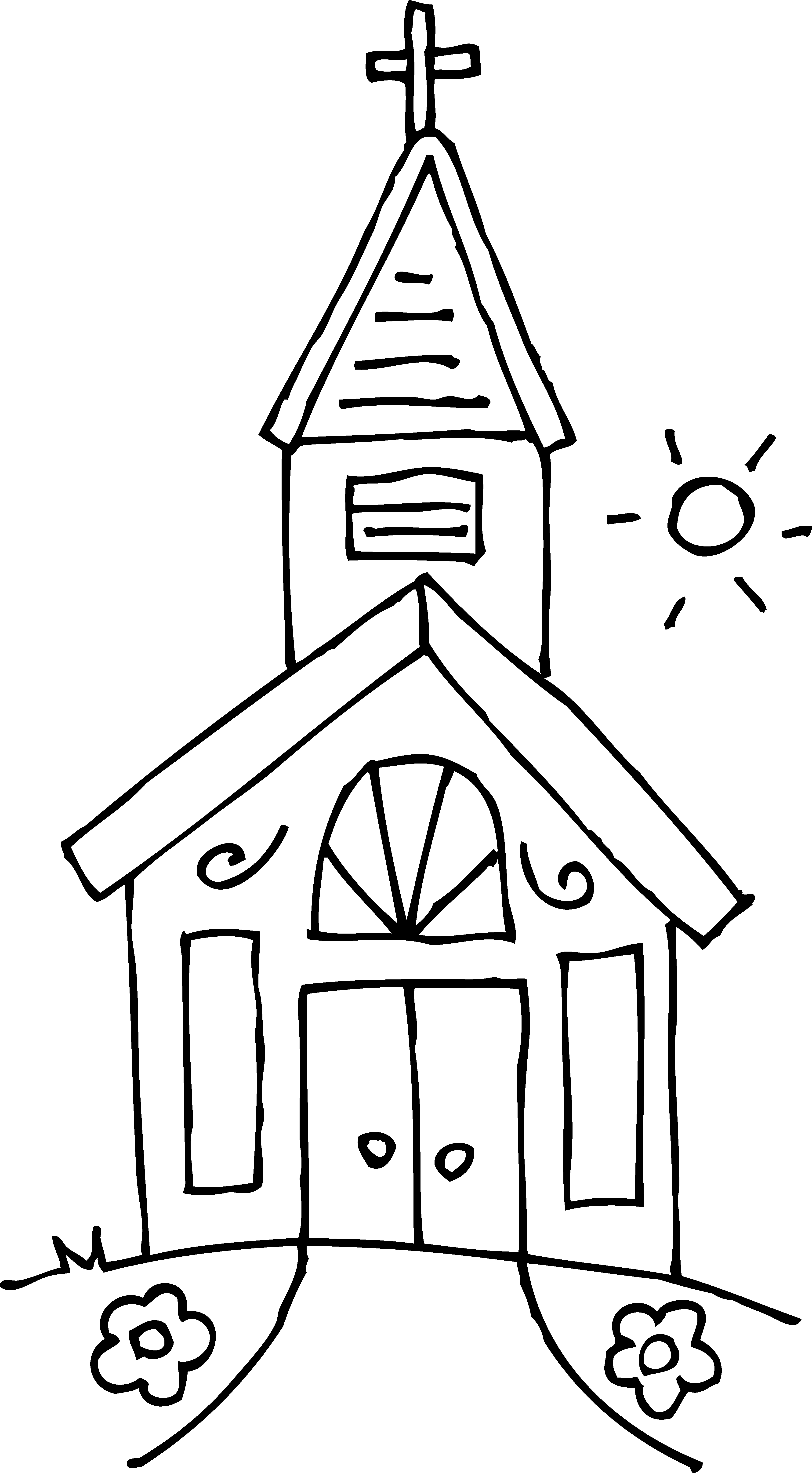 image black and white library Perfume clipart black and white. Church