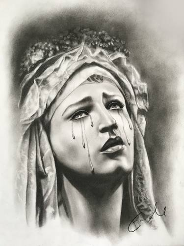 image transparent Drawings for sale saatchi. Religious drawing