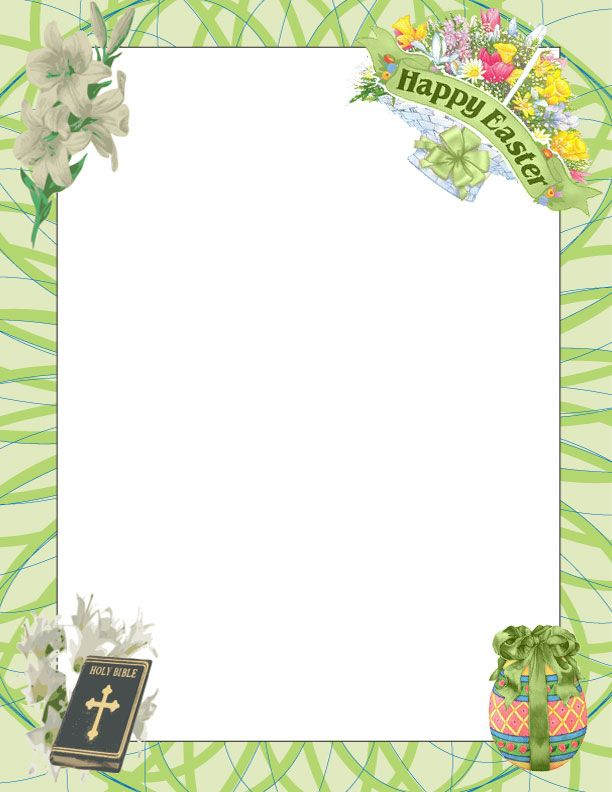 image transparent stock Pin on . Religious easter border clipart