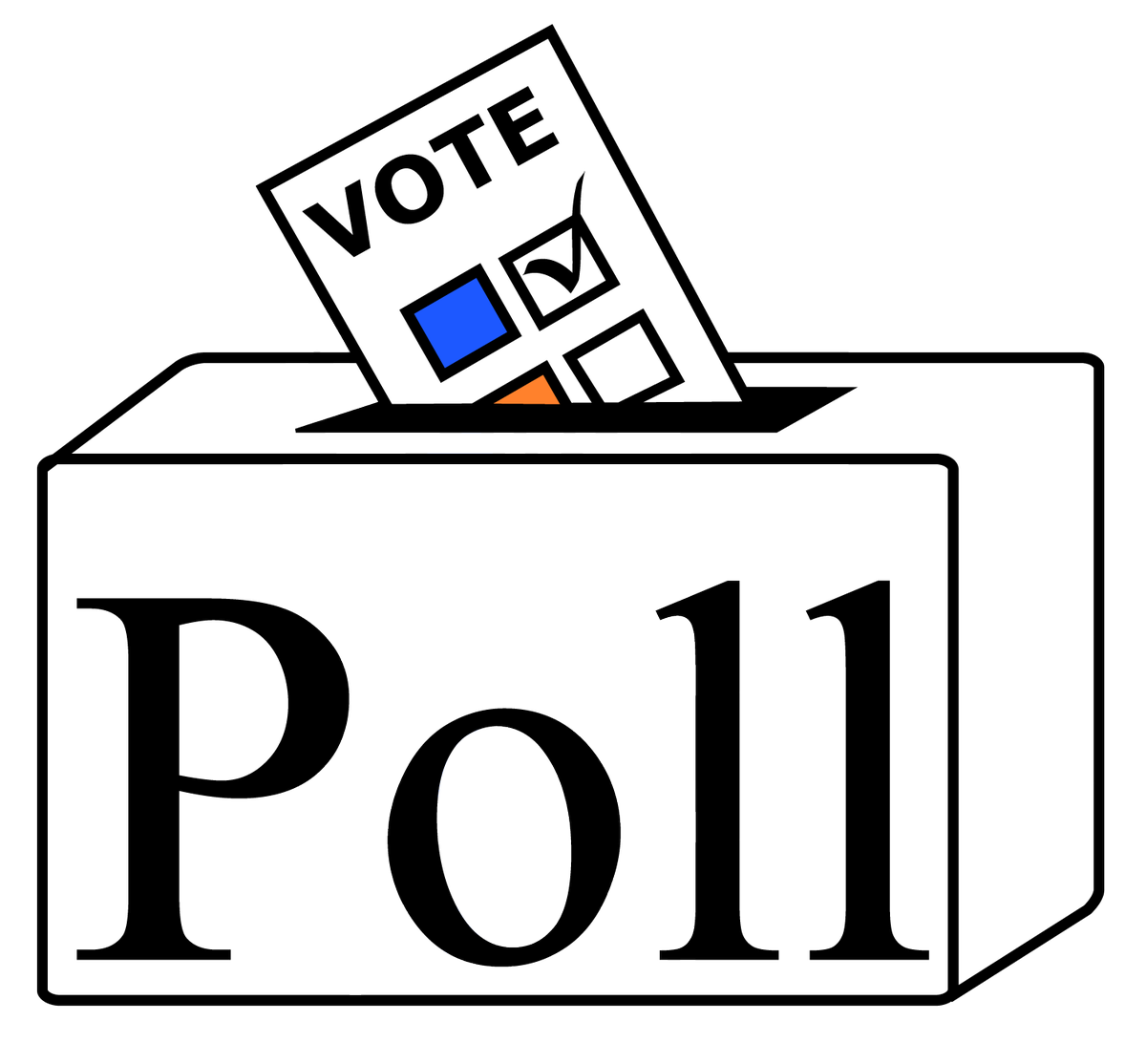 graphic transparent stock Remember to vote clipart. Poll jan