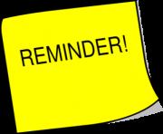 png transparent Hand clipart reminder. Free images clip art