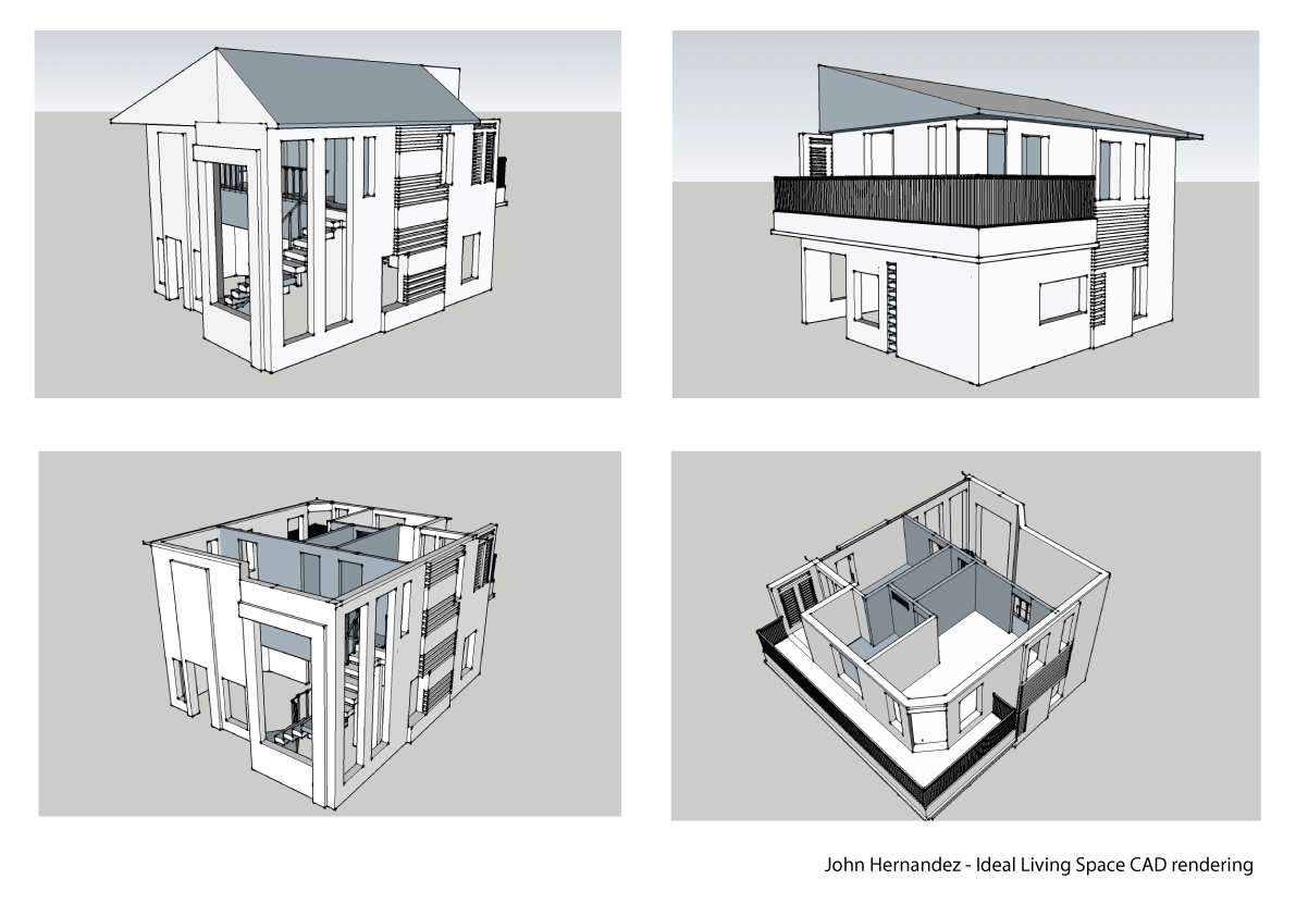 clipart stock The building elevations design. Rendering drawing