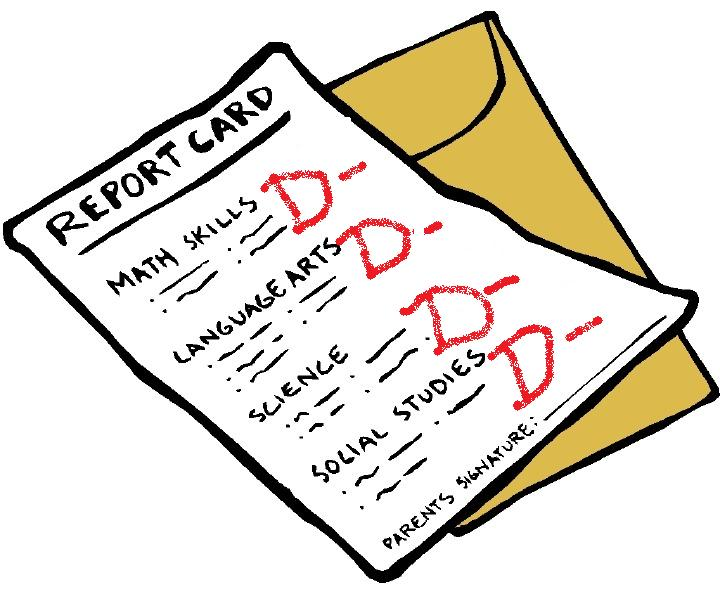 picture royalty free stock Report clipart grade card. Free picture of download