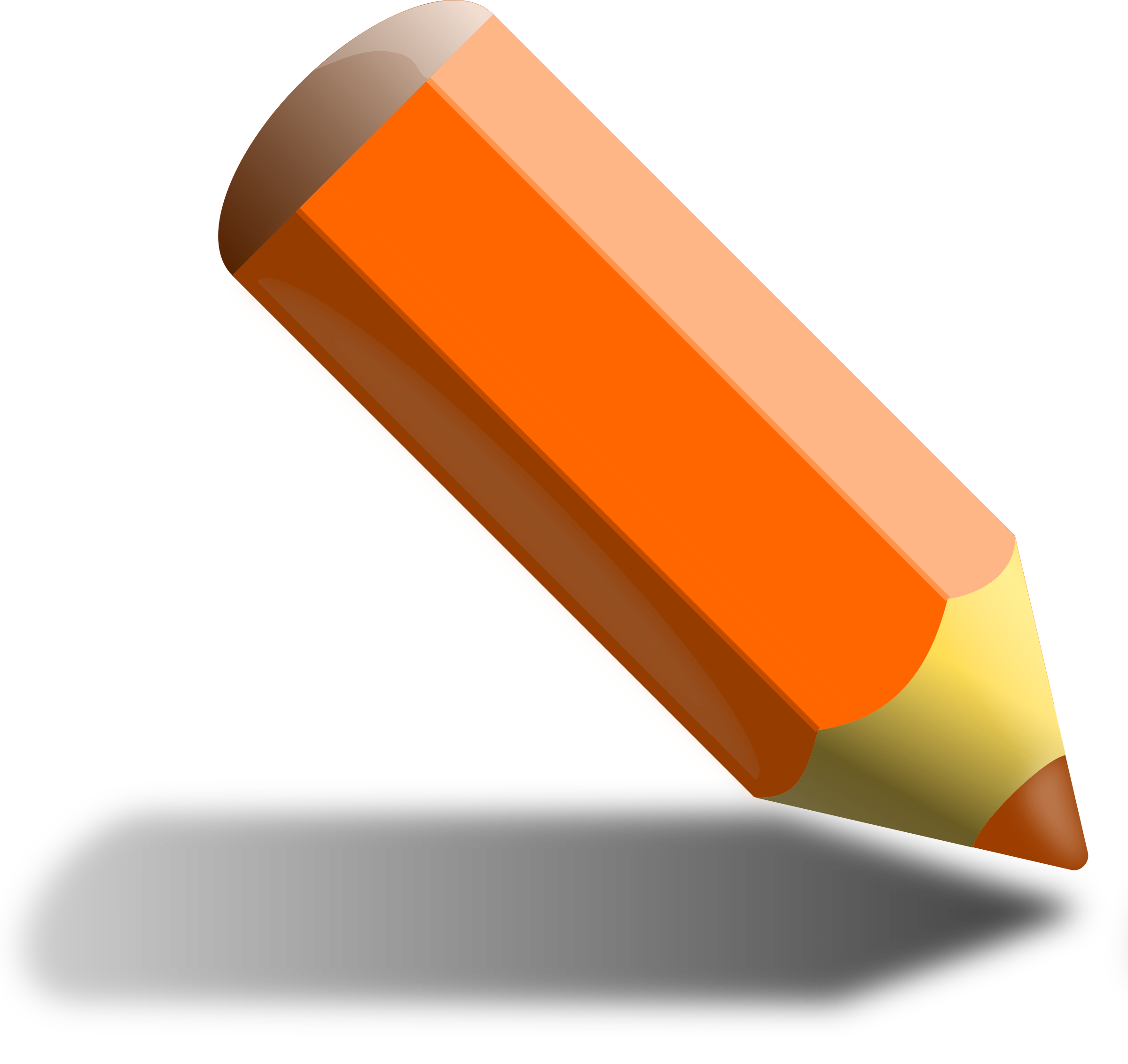 image freeuse library Orange icons png free. Report clipart pencil