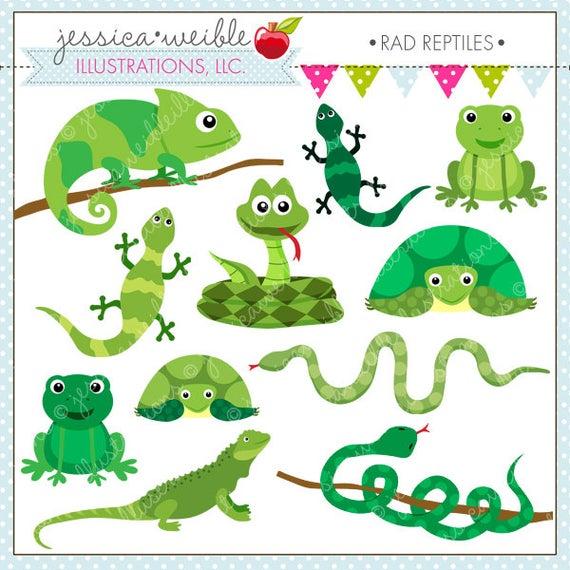 png free stock Reptile clipart. Rad reptiles cute digital.