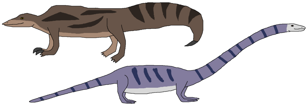 graphic free Weird Reptiles Appear
