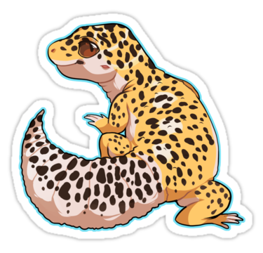 graphic black and white download Leopard Gecko