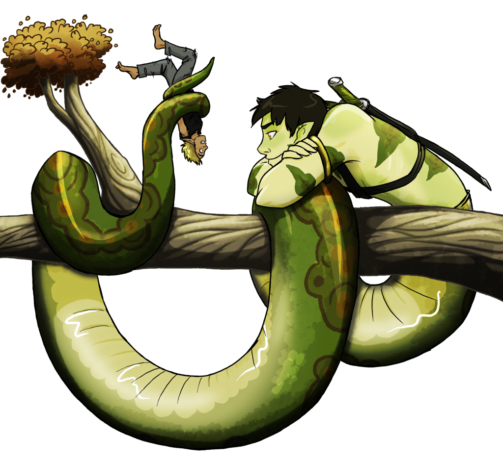 banner black and white library Naga YCH