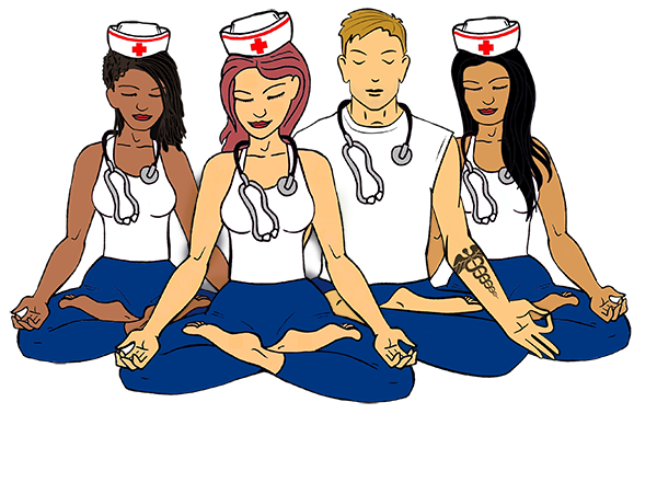 banner royalty free library Yoganurse academy continuing holistic. Nurse teaching patient clipart
