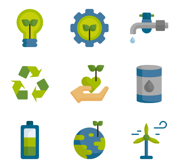jpg library Renewable energy Icons