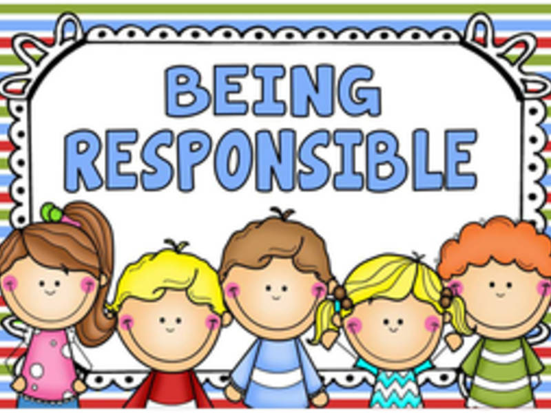 vector royalty free download Clean responsible kid . Responsibility clipart for kids