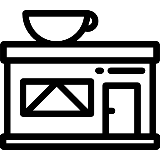 svg free Icon page png svg. Restaurant building clipart black and white