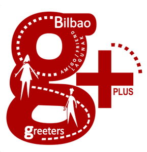 svg library Tailormade tours bilbao greeters. Restaurant clipart greeter.