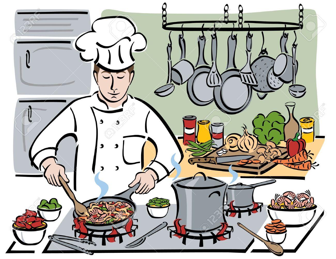 clip Chefs portal . Restaurant kitchen clipart.