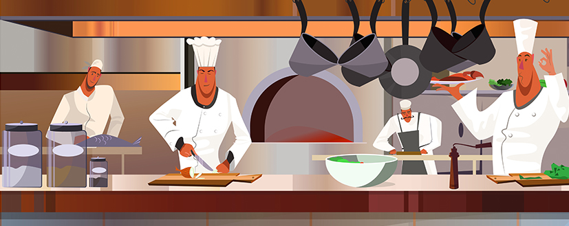 png stock Restaurant kitchen clipart. Starting a new commercial