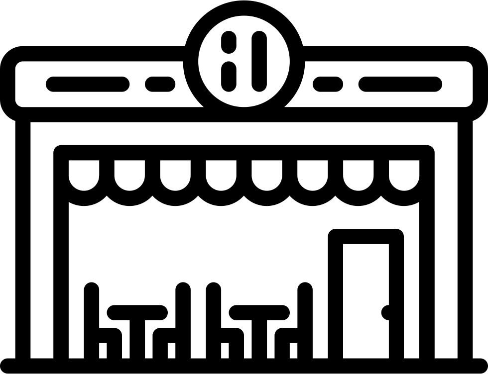 vector free library Restaurant Building Svg Png Icon Free Download
