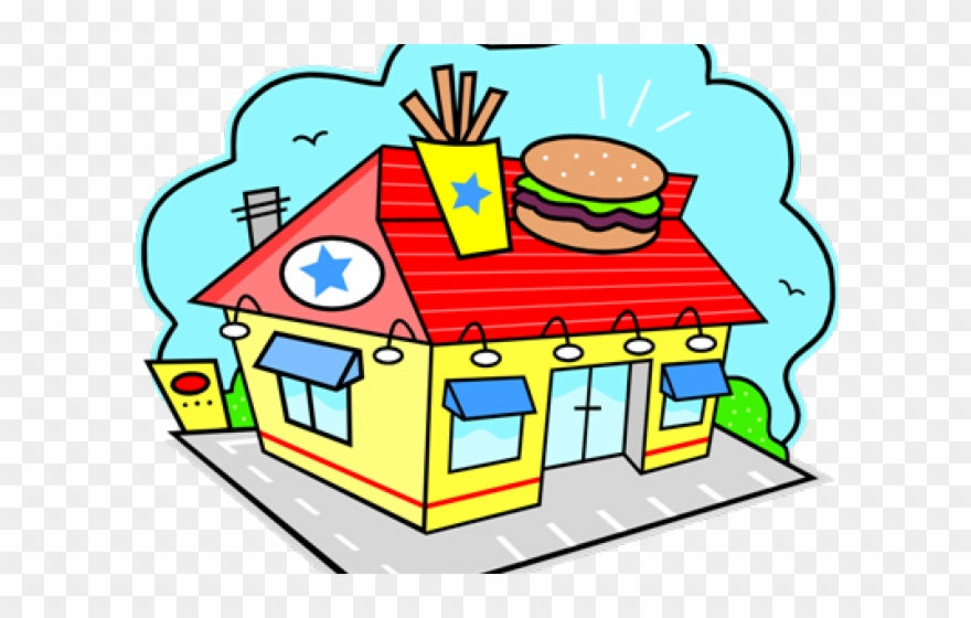 jpg free download Restaurants clipart. Place restaurant fast food.