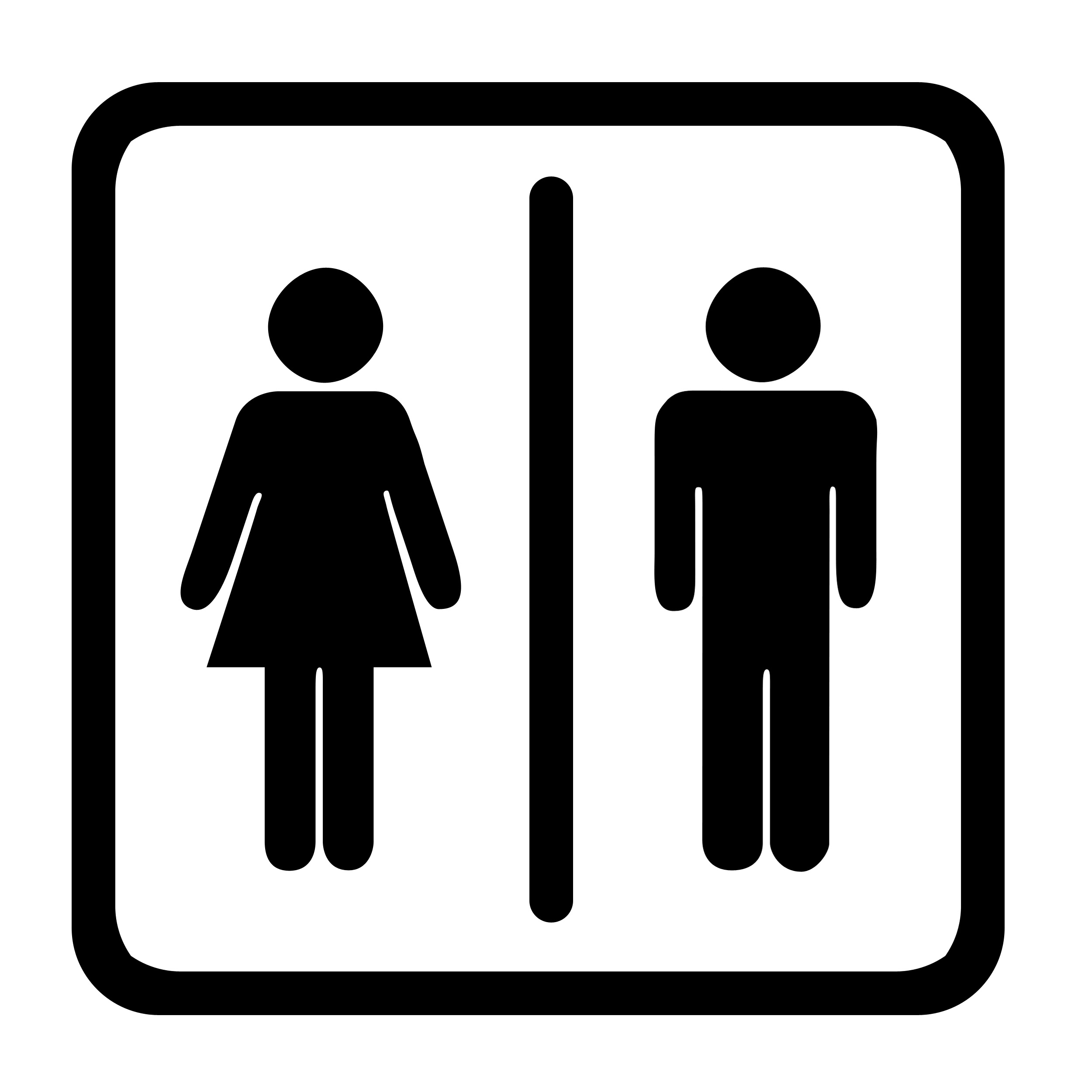 clip art freeuse library Free vector cliparts download. Restroom clipart.
