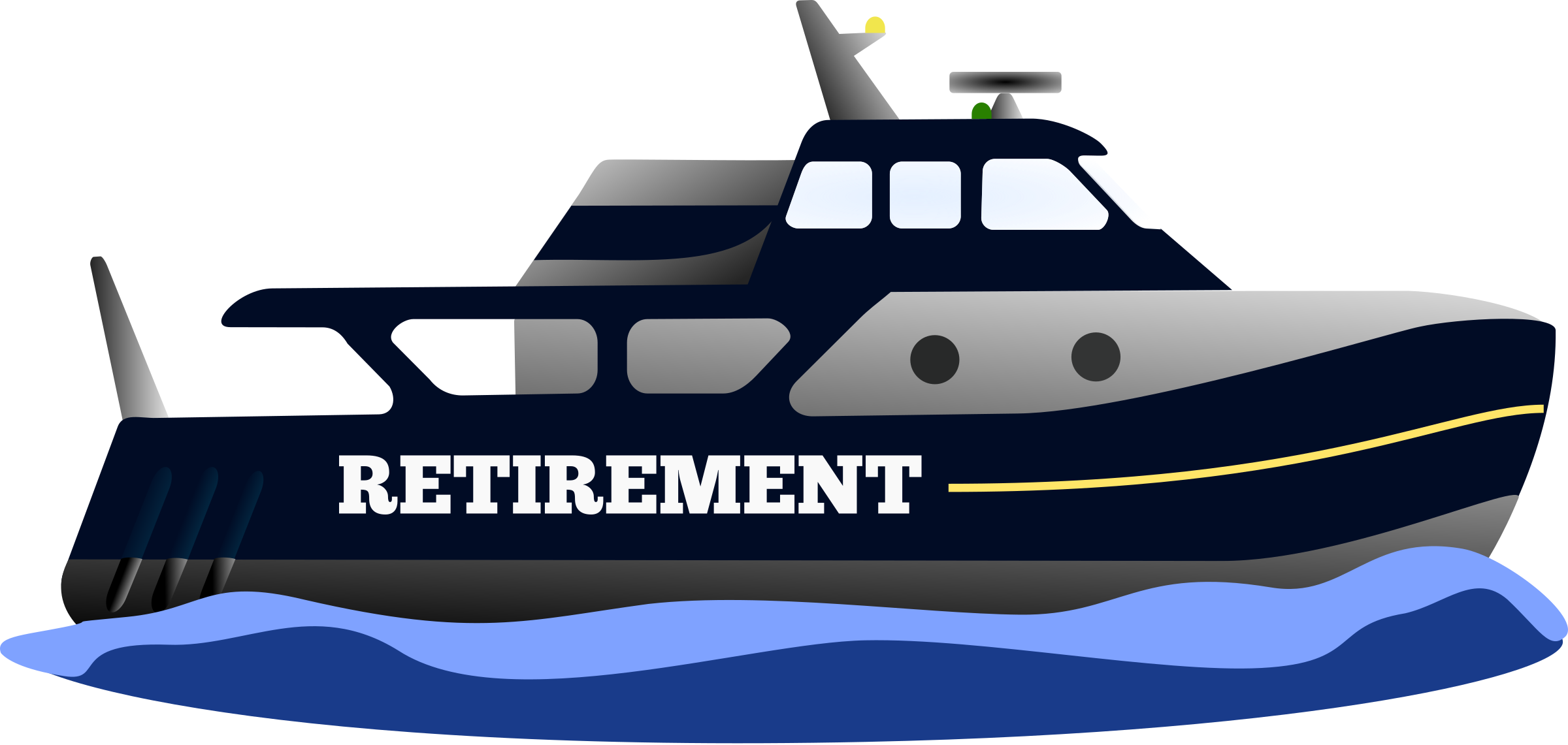jpg library Big image png. Retirement clipart.