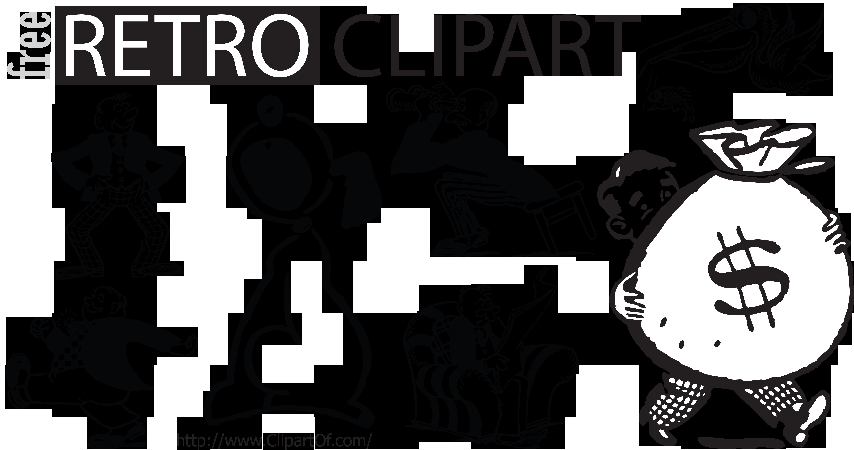 banner transparent Graphics . Retro clipart.