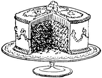 clip freeuse download retro clipart cake #47124304