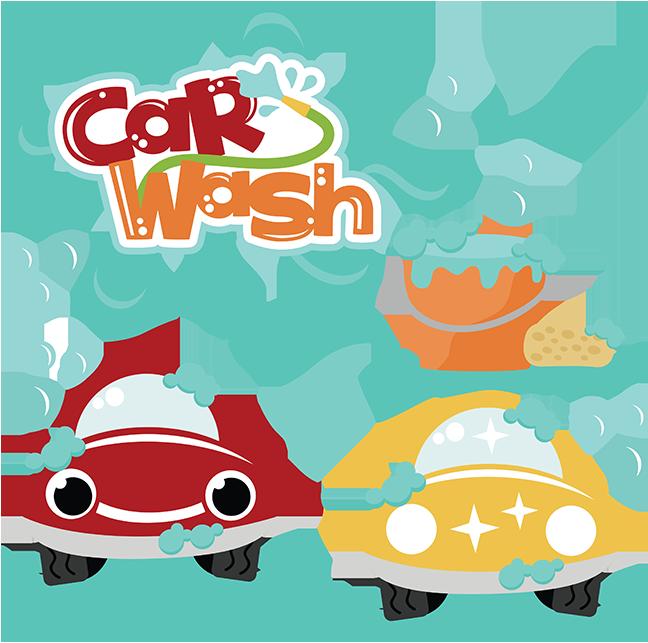 graphic royalty free stock Car wash cut files. Laundry svg cartoon