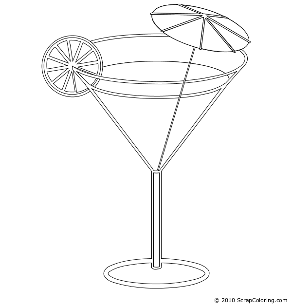clip art royalty free stock Cocktail Drawing at GetDrawings