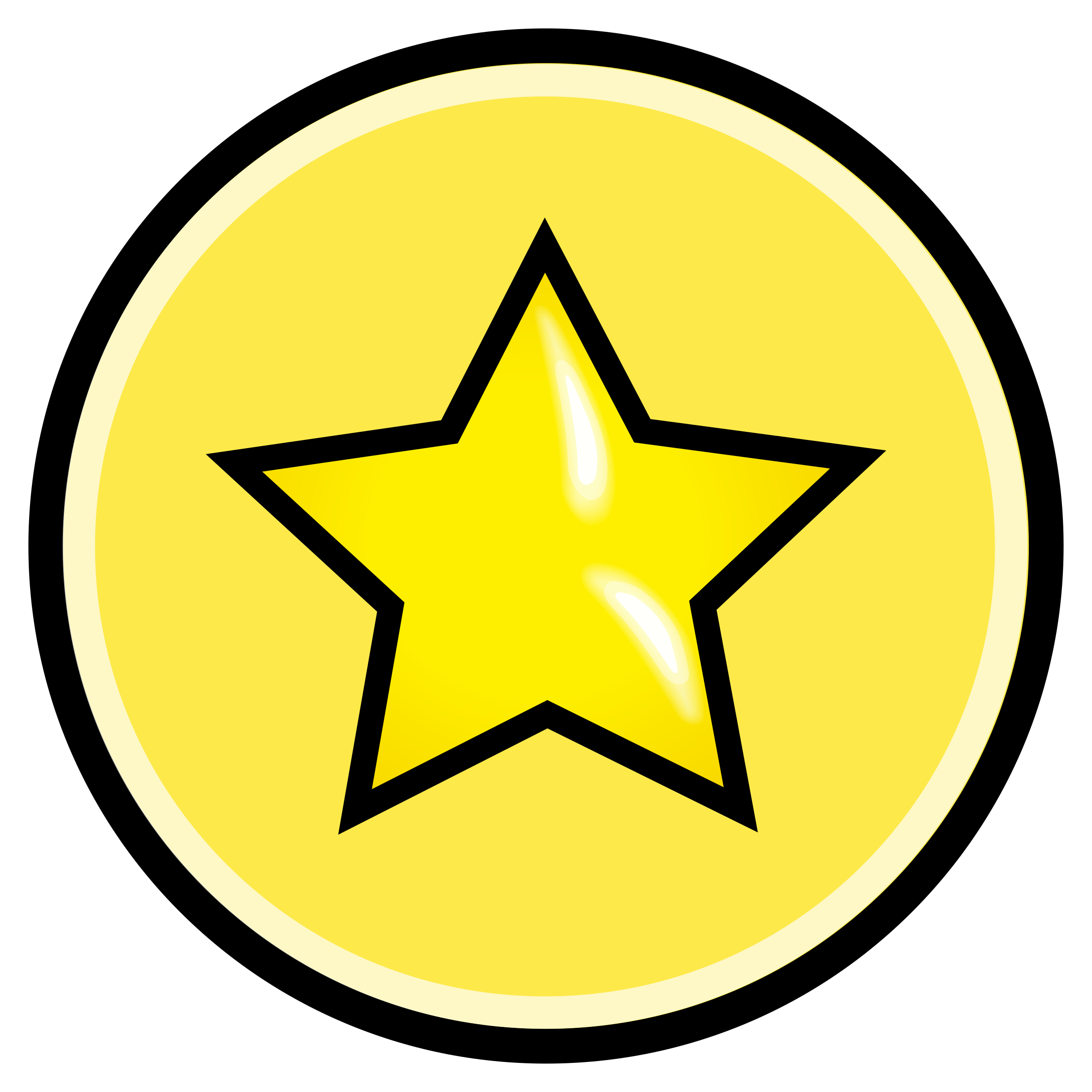 png library Button yellow big image. Review clipart