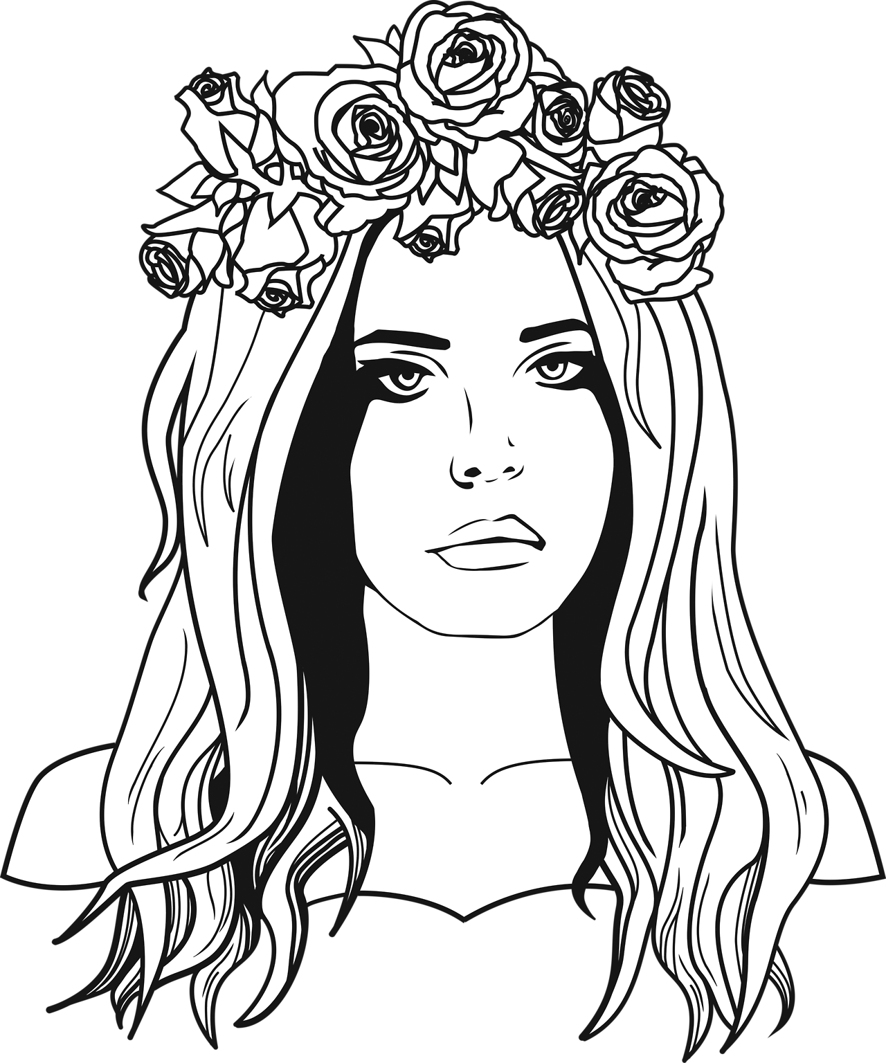 clipart royalty free stock Lana Del Rey
