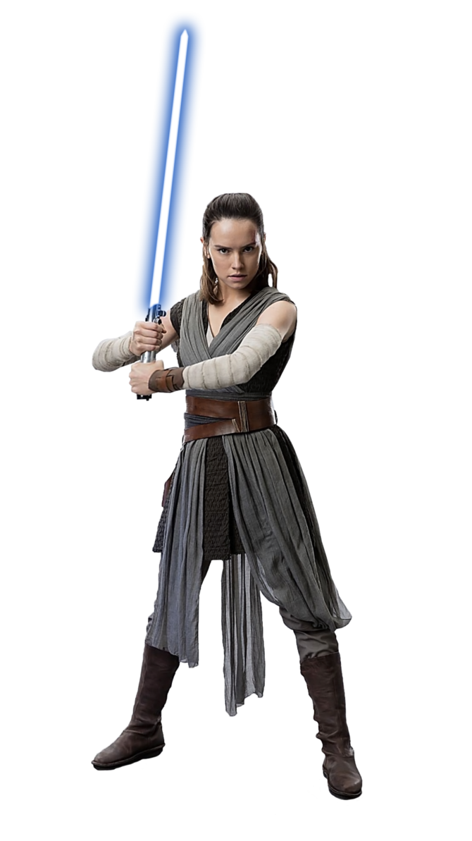 jpg royalty free stock Rey transparent. Star wars png by.