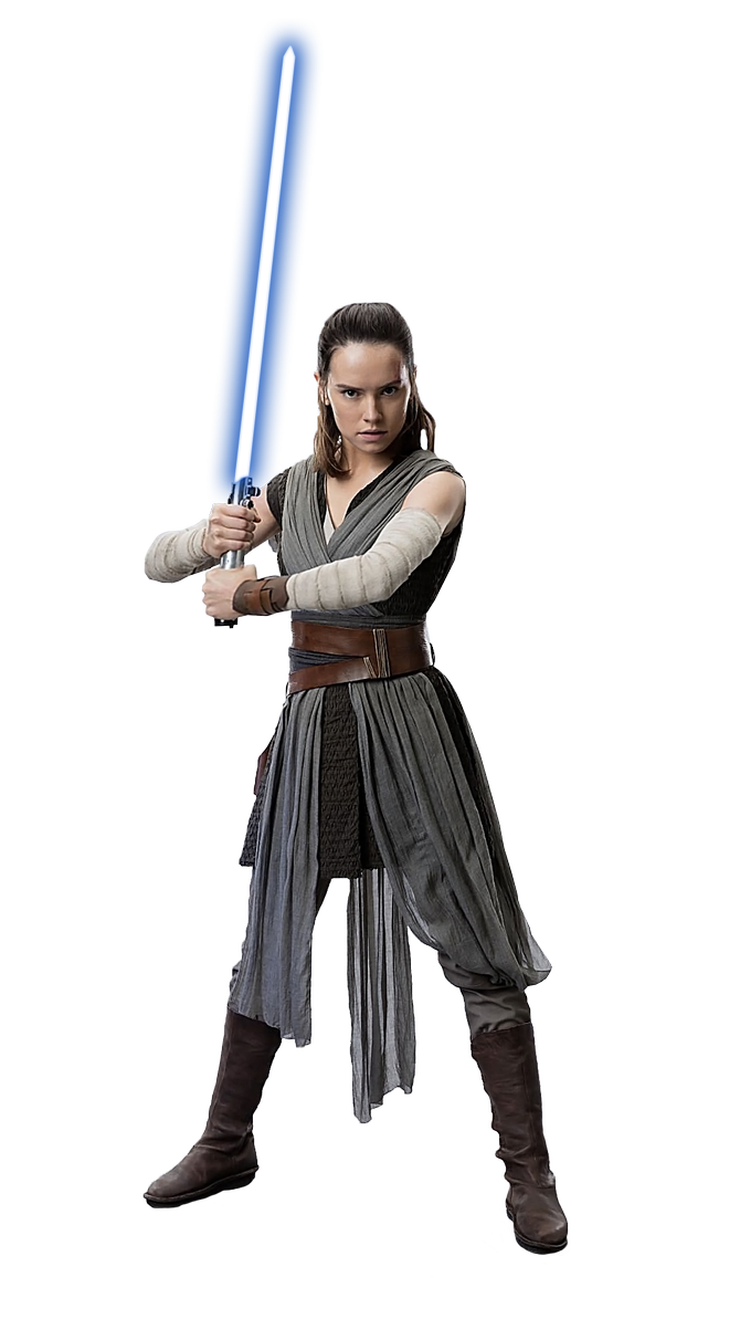 clipart free library Rey transparent. Star wars png free.