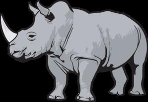 jpg library stock Rhino Clipart