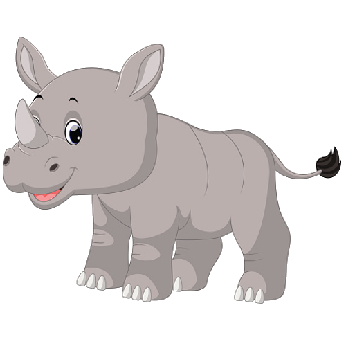 jpg royalty free library Rhino clipart. Real free on dumielauxepices.