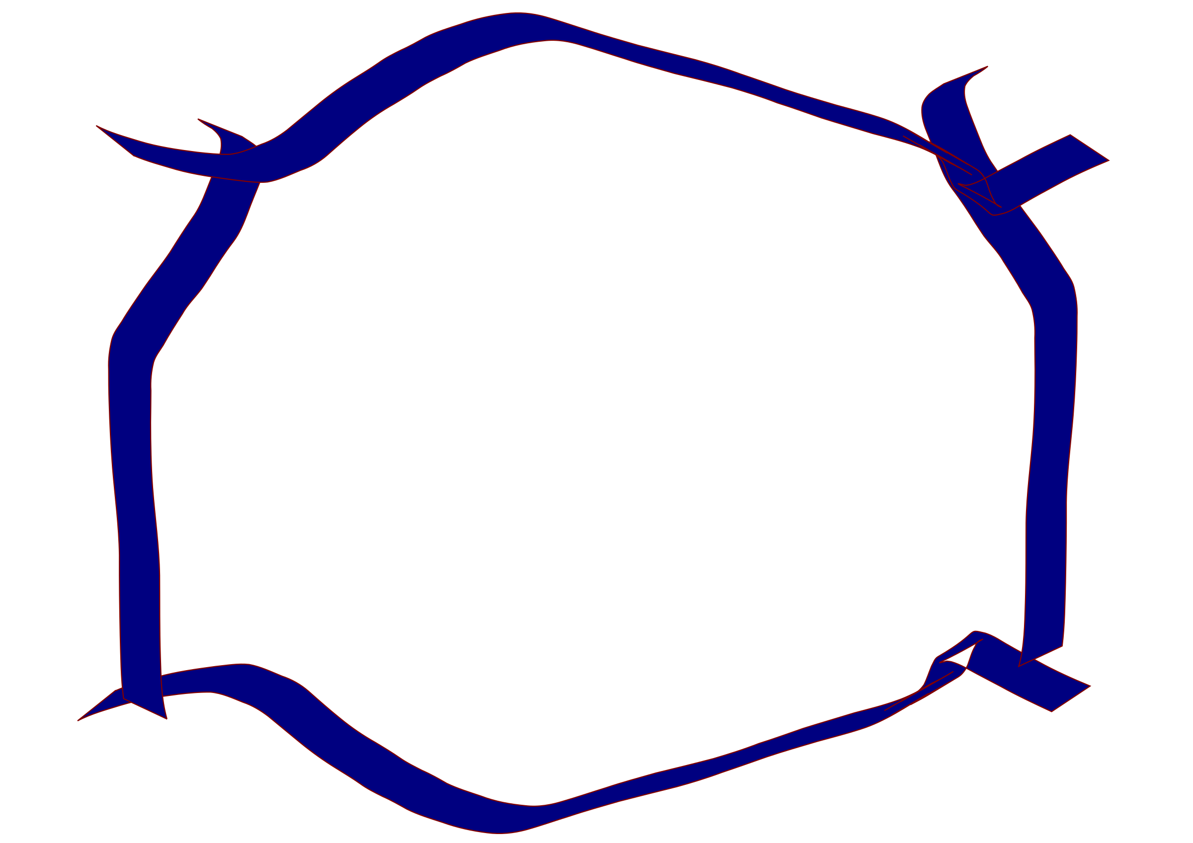 png freeuse Ribbon borders clipart. Blue border