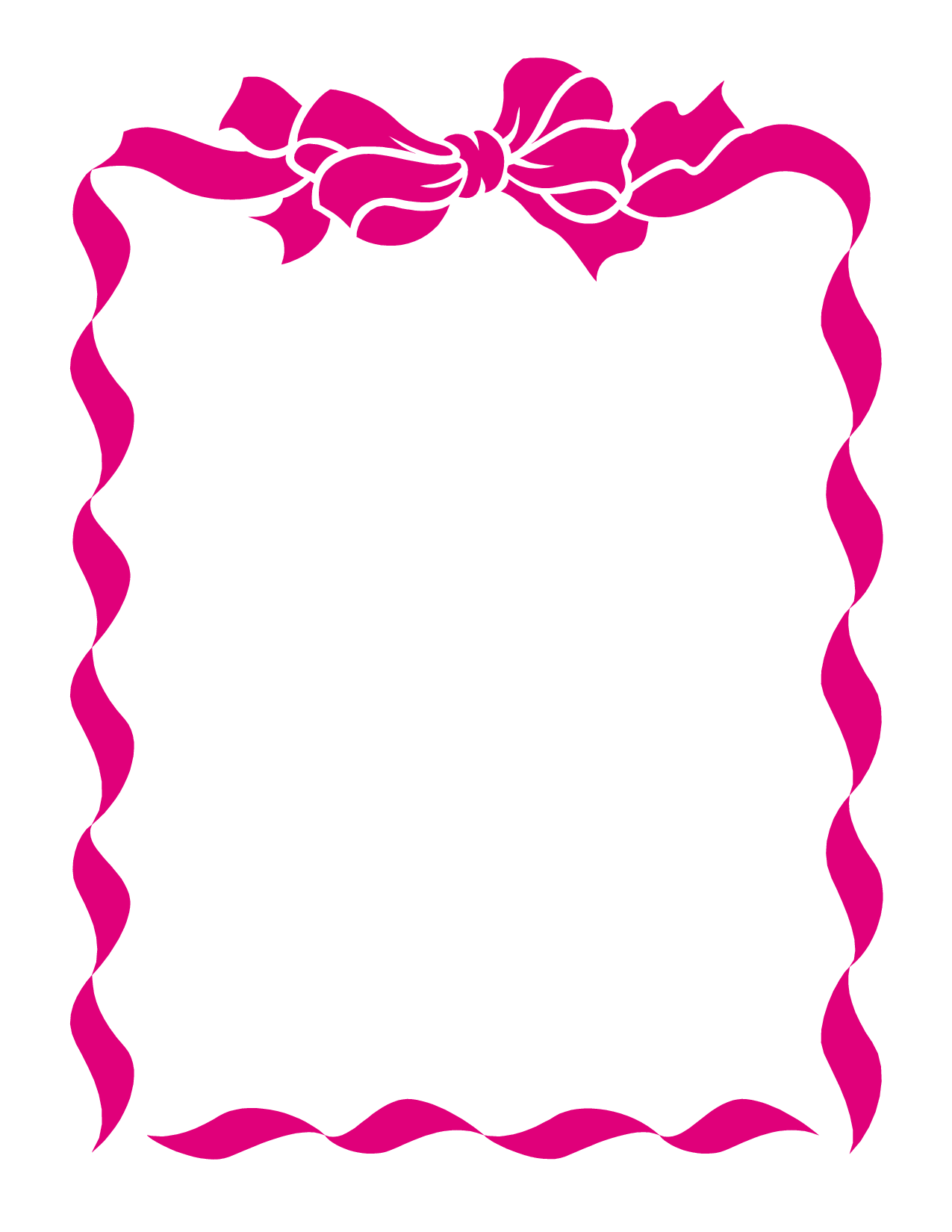 picture library stock Ribbon borders clipart. Free border cliparts download