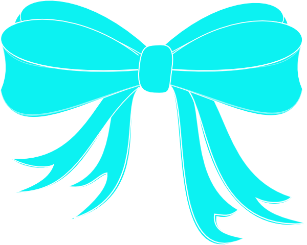 image freeuse stock Turquoise Bow Ribbon Clip Art at Clker
