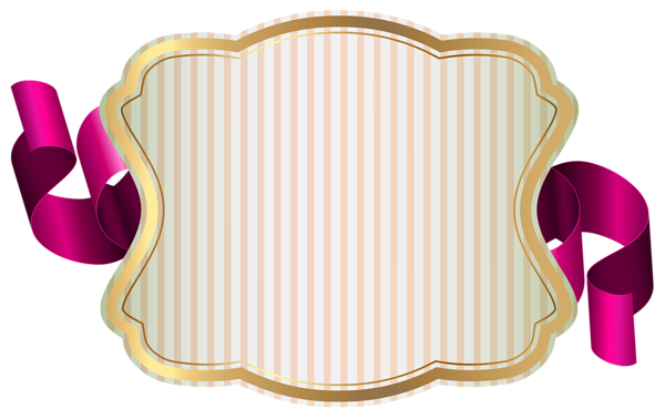 jpg royalty free library With ribbon png clip. Clipart label
