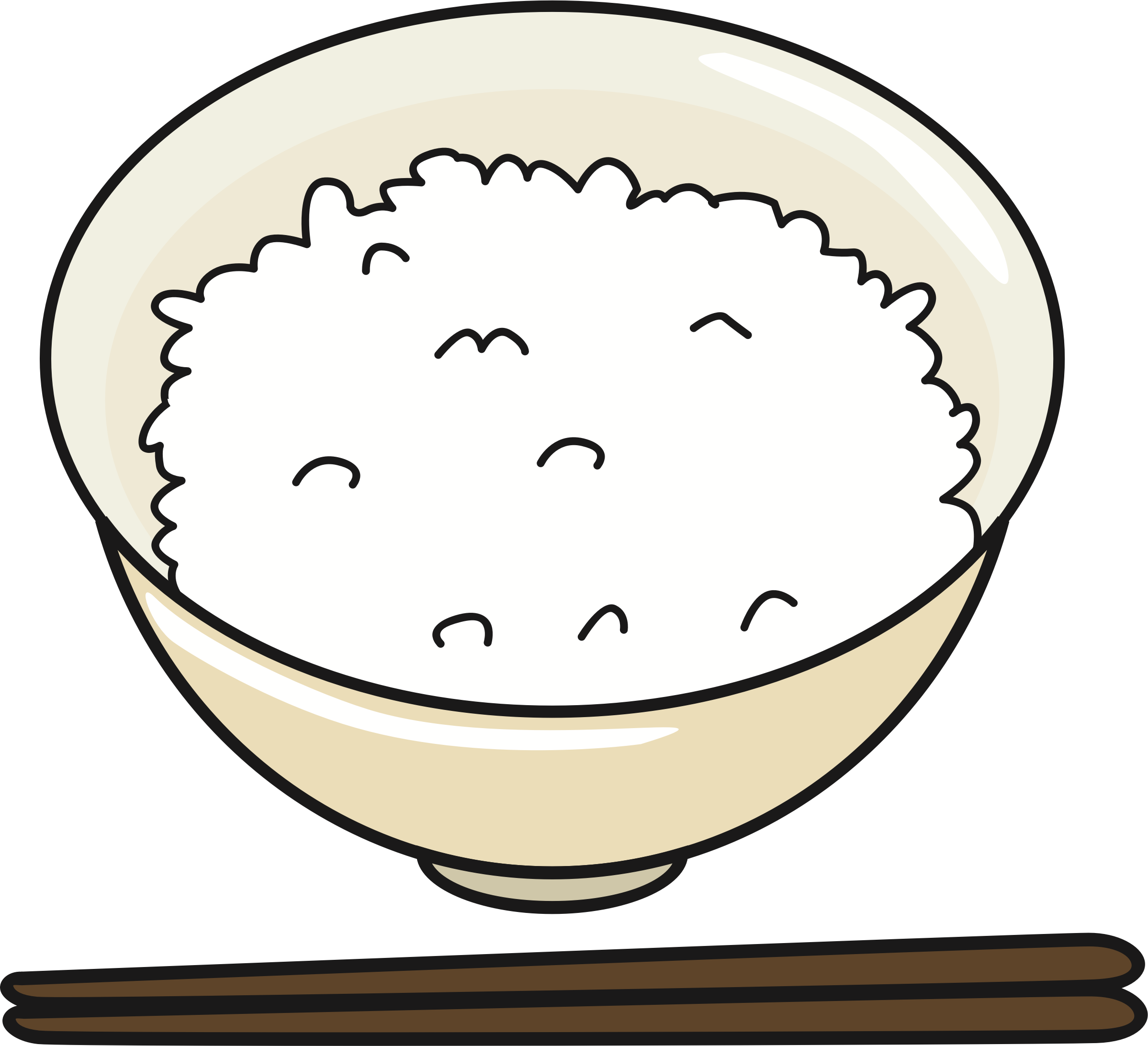 image transparent library Rice clipart. Bowl of big image.