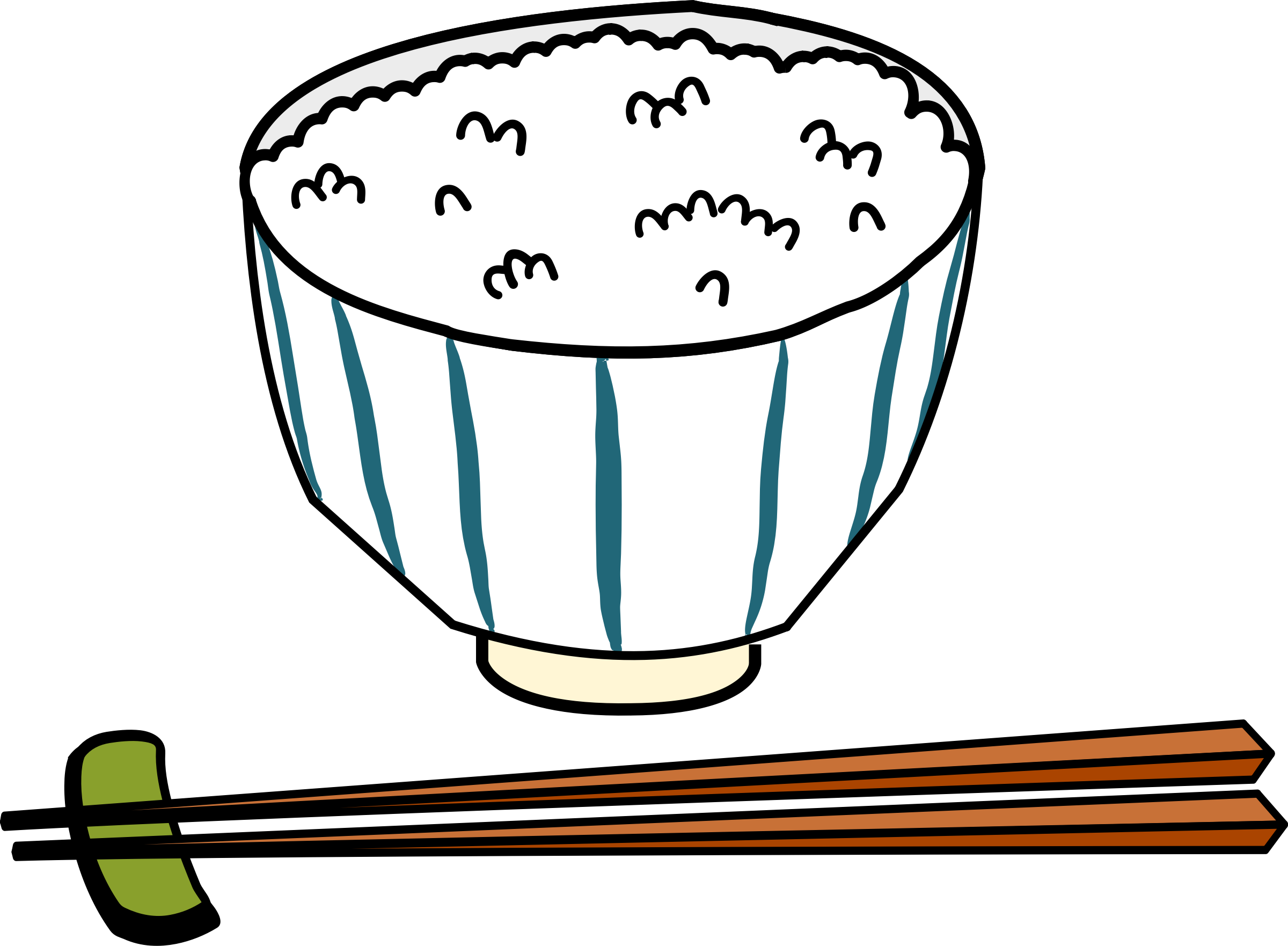 clip library stock Rice dish free on. Japan clipart