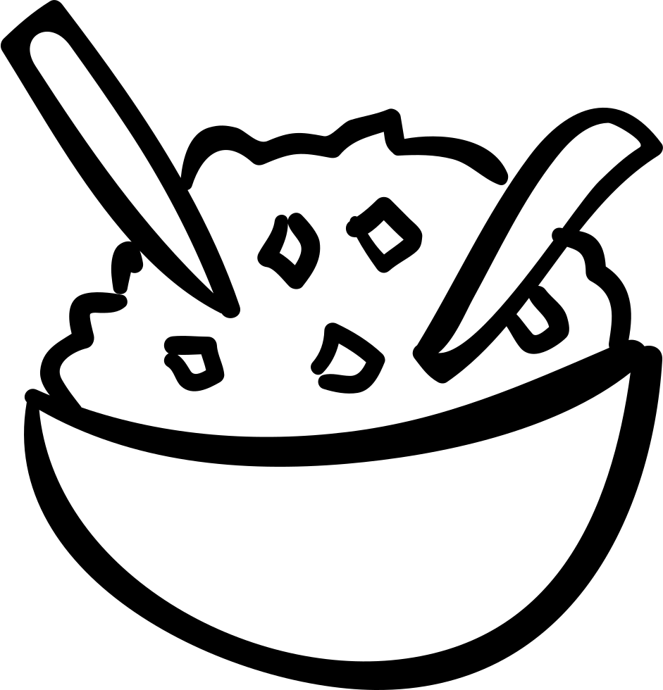 image black and white stock Bowl Of Rice Drawing at GetDrawings