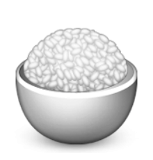 clip royalty free Ios Emoji Cooked Rice